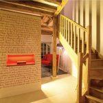 Salon et escalier de la Suite Marguerite