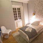 Chambre avec lit simple de la location de vacances Marguerite