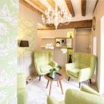 Salon cosy de l'appartement de vacances Angélique